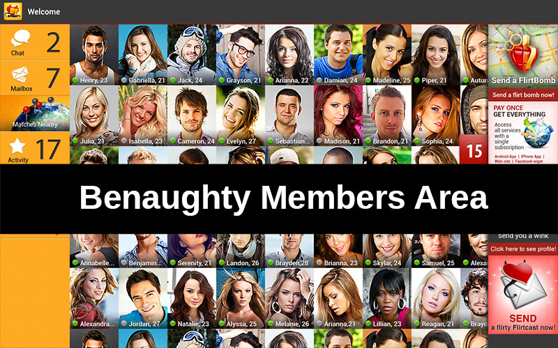 be naughty app members area