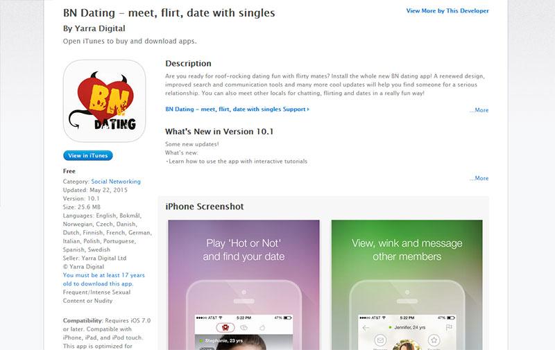 benaughty app