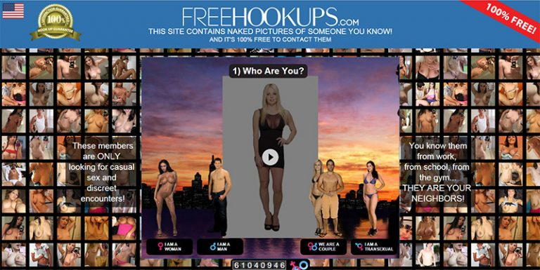 FreeHookups site review