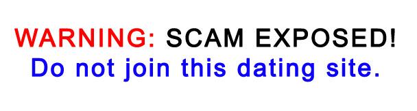 Dating Site Scam Alert