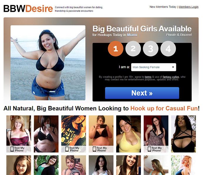 bbw desire dating