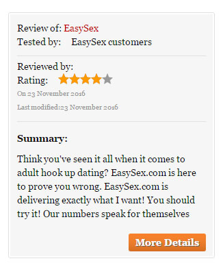 easysex third party reviews