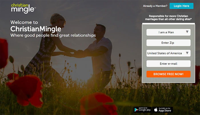 christian mingle dating