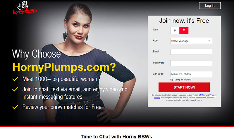 Hornyplumps.com Site Review