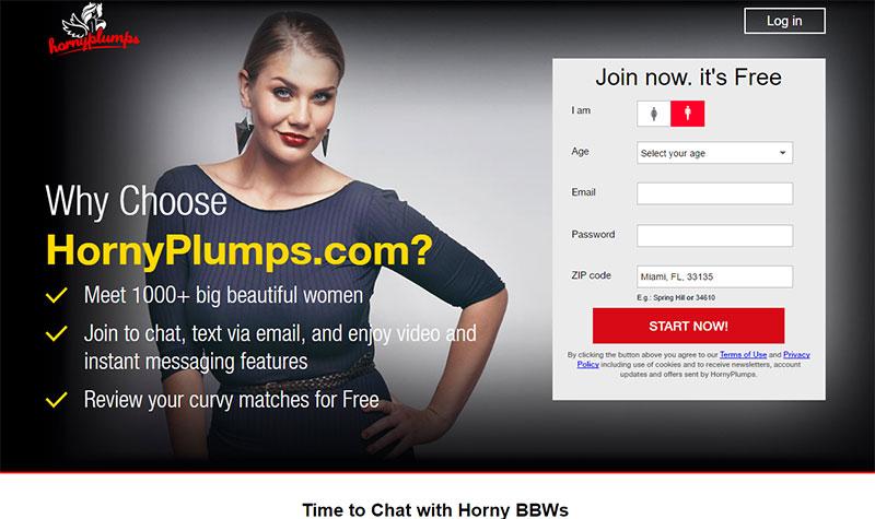 Hornyplumps.com Site Review