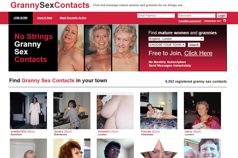 GrannySexContacts Reviews