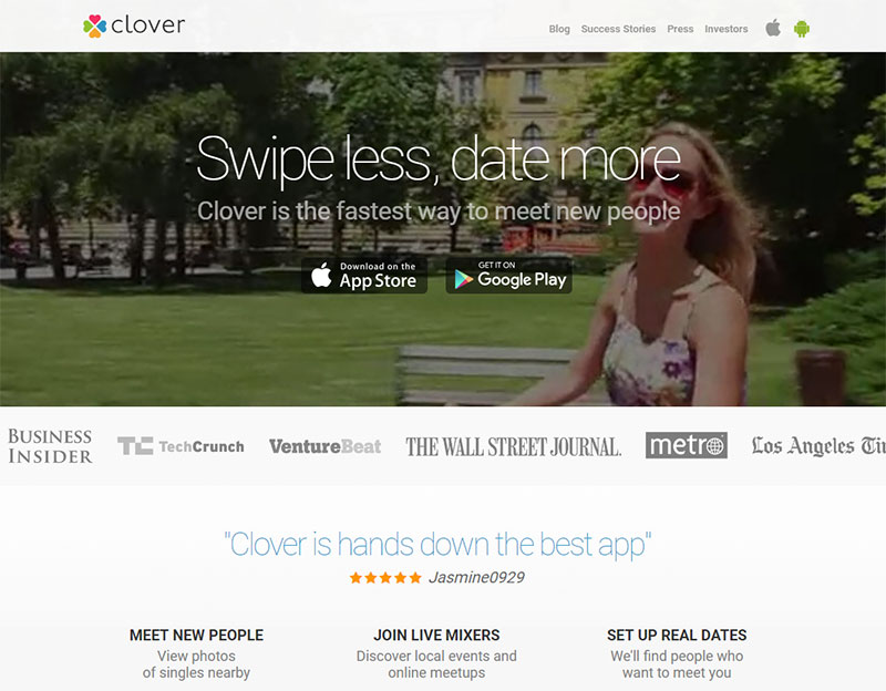 How to use clover dating app
