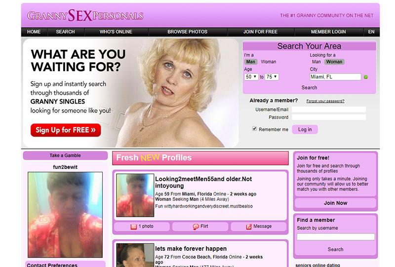 Granny Sex Personals