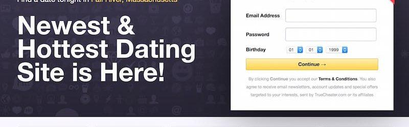 Screenshot of truecheater.com homepage