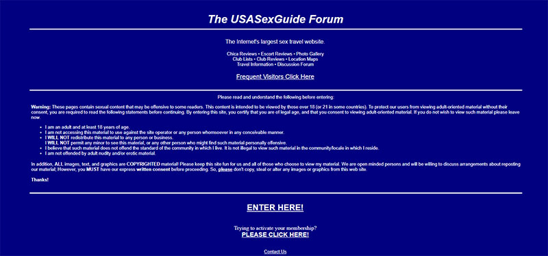 usa sex guide