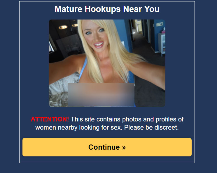 This Is Not A Hookup Site