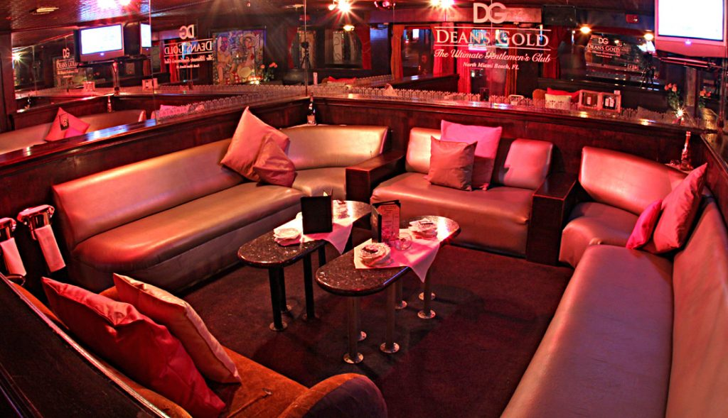 Deans Gold VIP Section