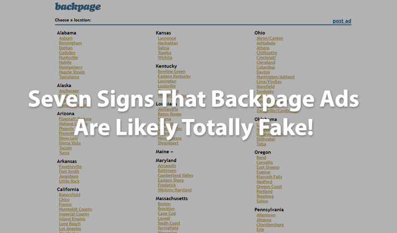 7 signs backpage ads are fake