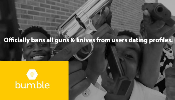 Bumble App bans all guns