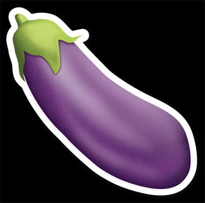 eggplant sexting emoji