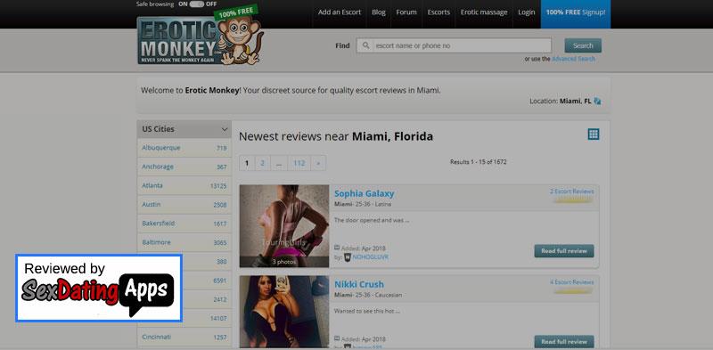 erotic monkey homepage