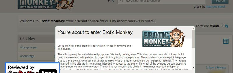 Erotic Monkey Site Review