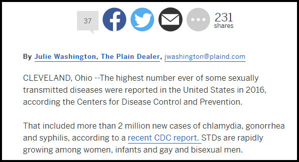 cleveland std facts