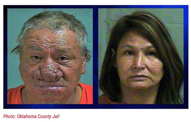 Oklahoma City Couple arrested