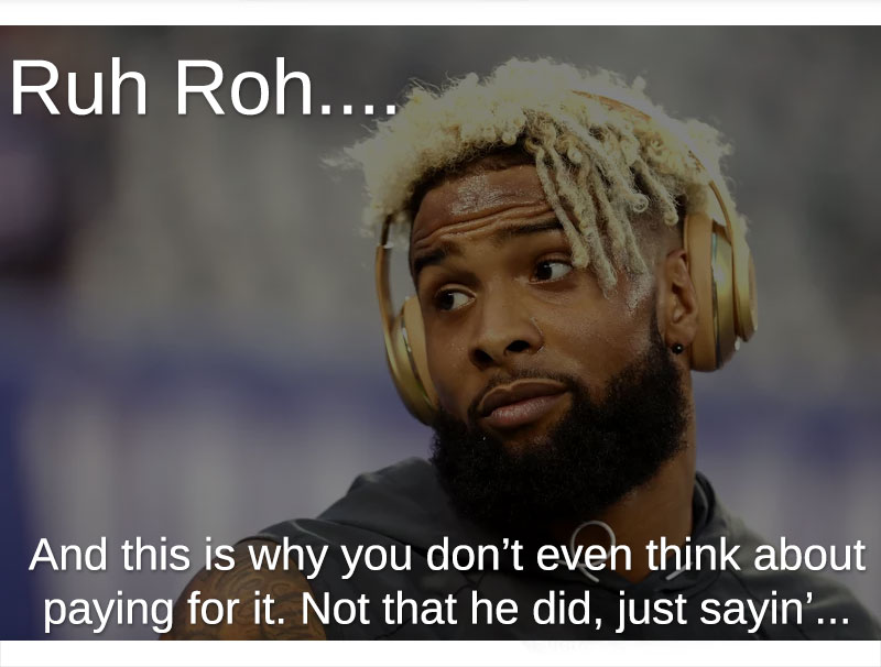 odell beckham jr escort accusations
