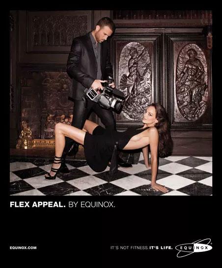equinox gym magazine ad