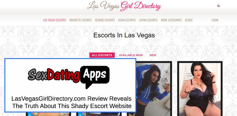 Las Vegas girl directory homepage