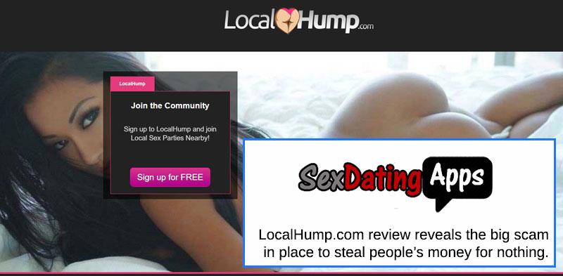 localhump.com homepage
