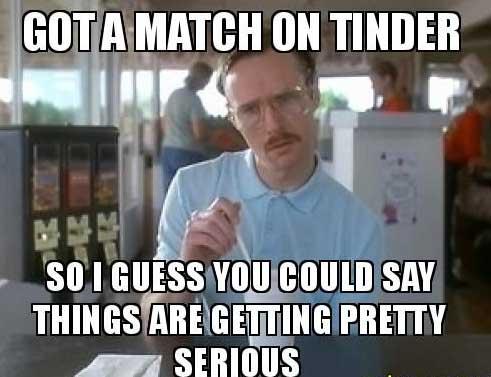 Kip's Tinder Match