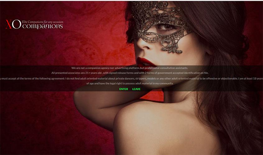 xo companions homepage