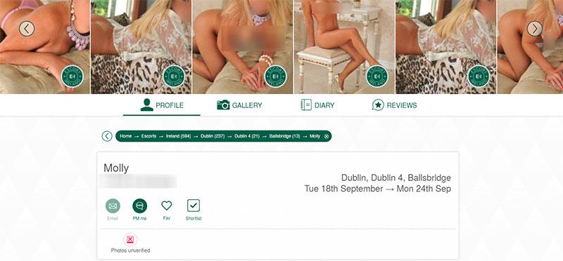 escort-ireland.com ad