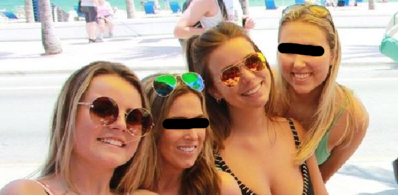 girls at ft lauderdale beach