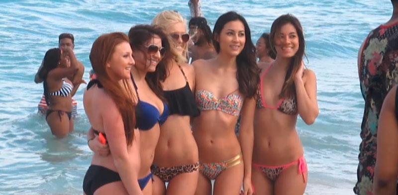 girls on south beach miami