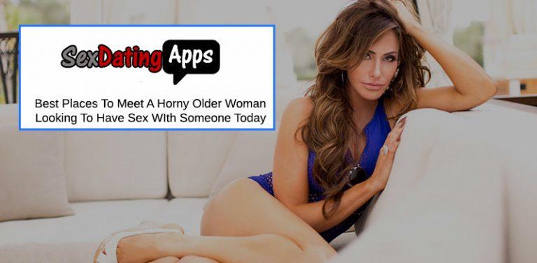 meet horny older women