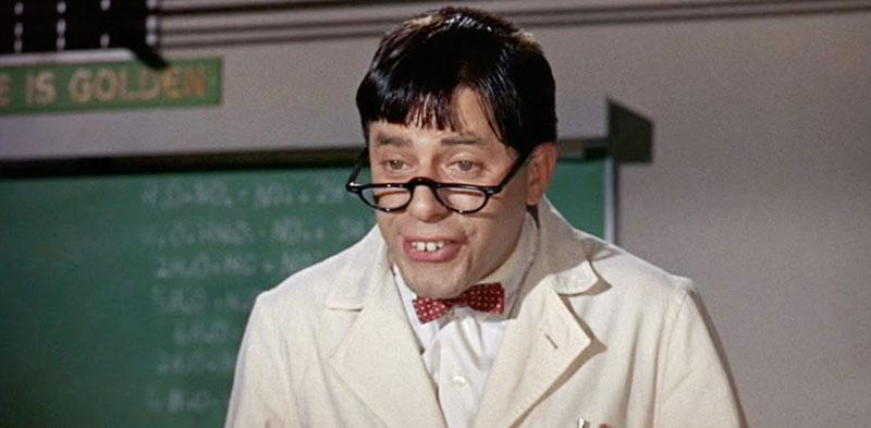 Professor wearing a tie