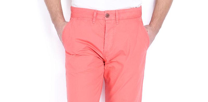 salmon colored pants