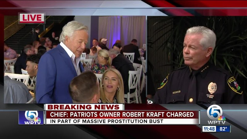 WPTV robert kraft press conference