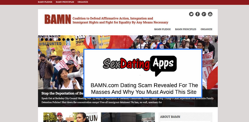 BAMN site