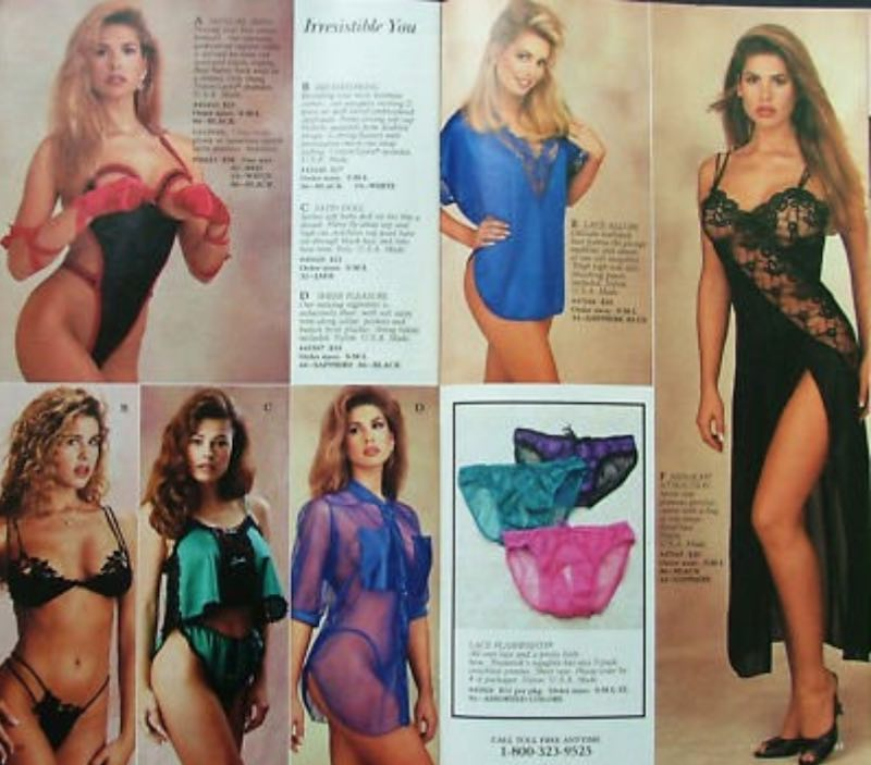 Fredricks of Hollywood Lingerie