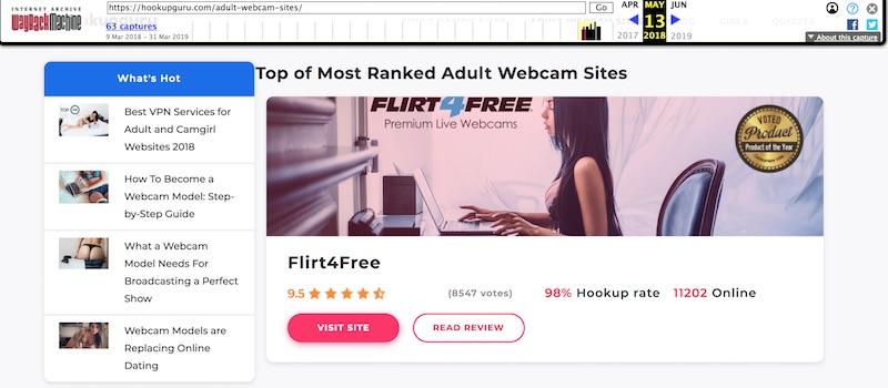 Flirt4free screenshot