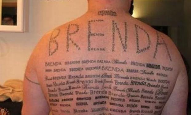 The Brenda Tattoo