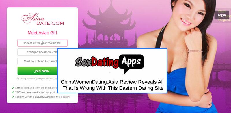 homepage of chinawomendating.asia