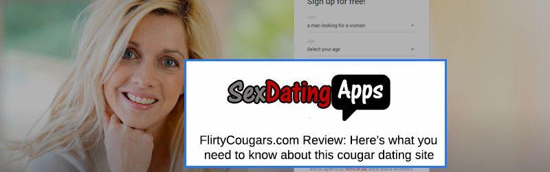 FlirtyCougars.com screenshot