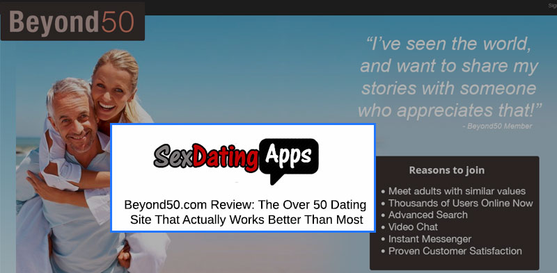 Beyond 50 Dating Site