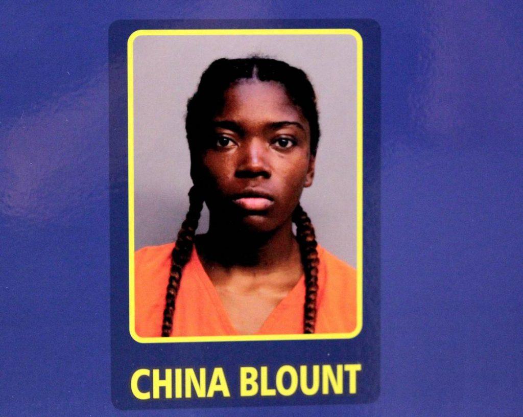 China Blount Arrest Photo