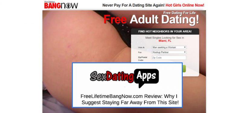 homepage of Freelifetimebangnow.com