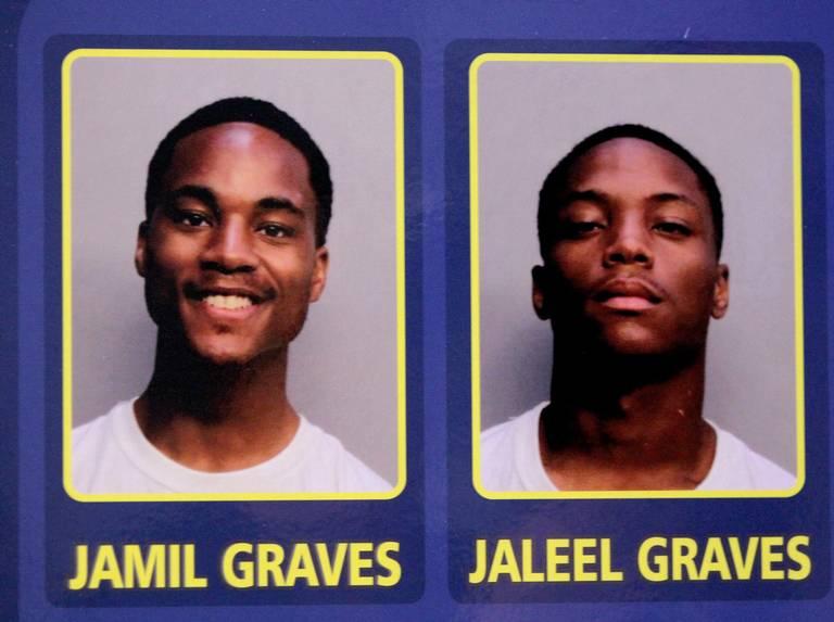 Jamil and Jaleel Graves Arrest