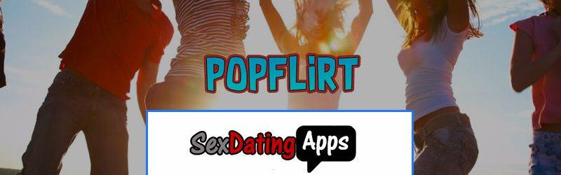 homepage of Popflirt.com