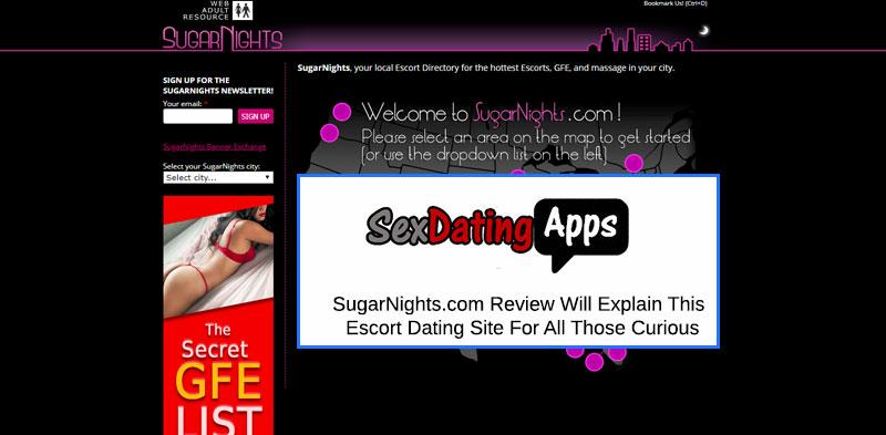 sugarnights homepage