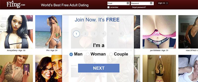 Fling.com Website