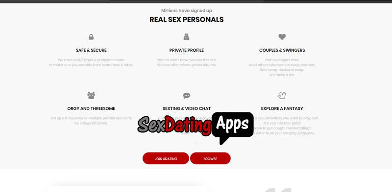options on Xdating.com
